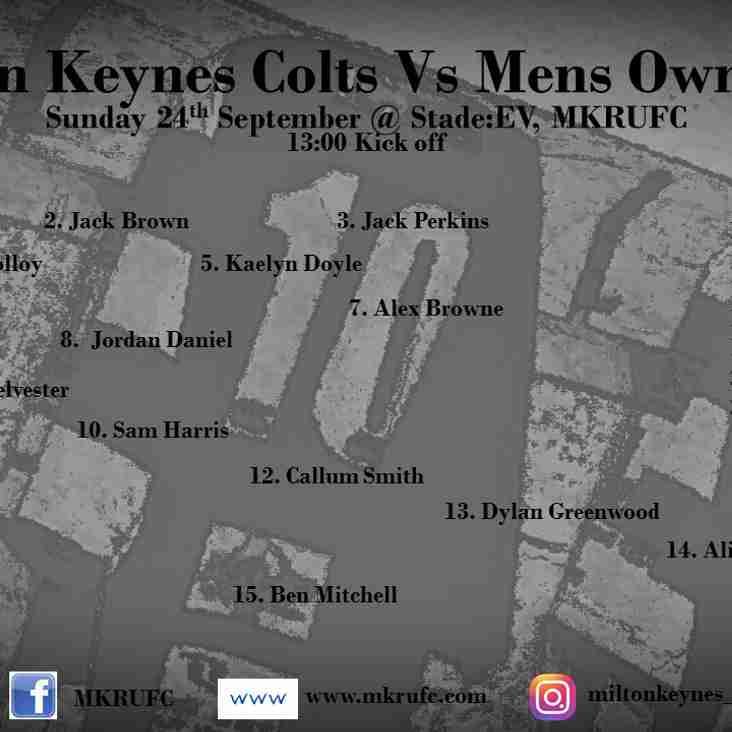 MK Colts vs Mens Own Colts