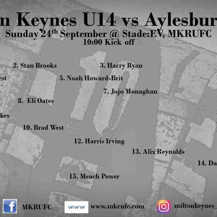 MK U14s vs Aylesbury U14s