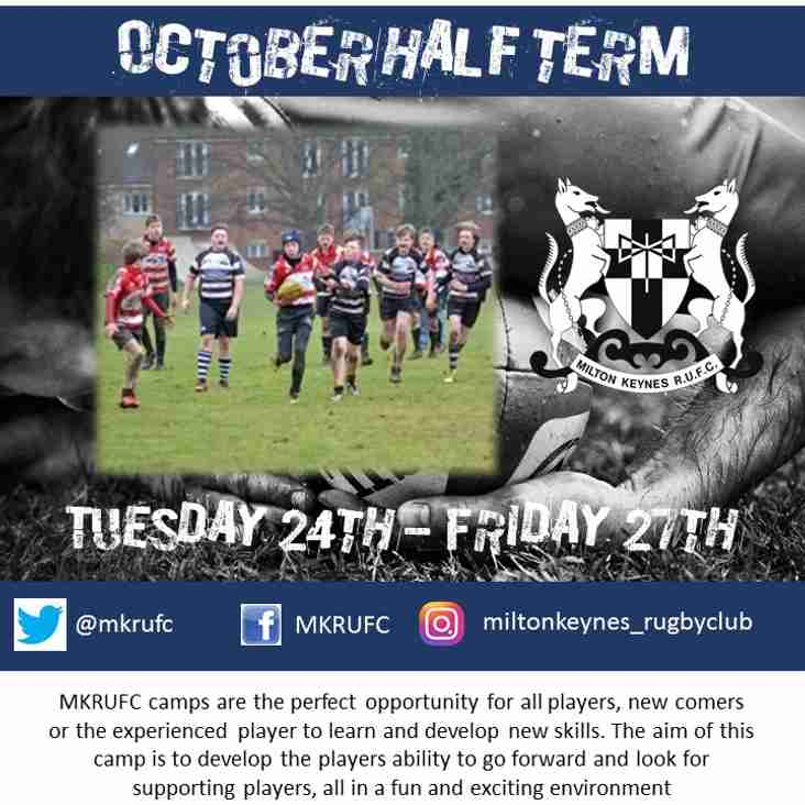 October Rugby Camp