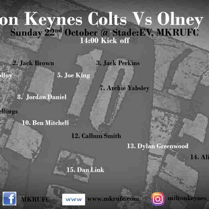 MK Colts vs Olney Colts