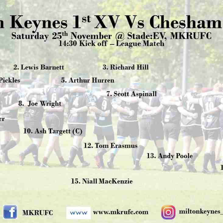 MK 1s vs Chesham 1s