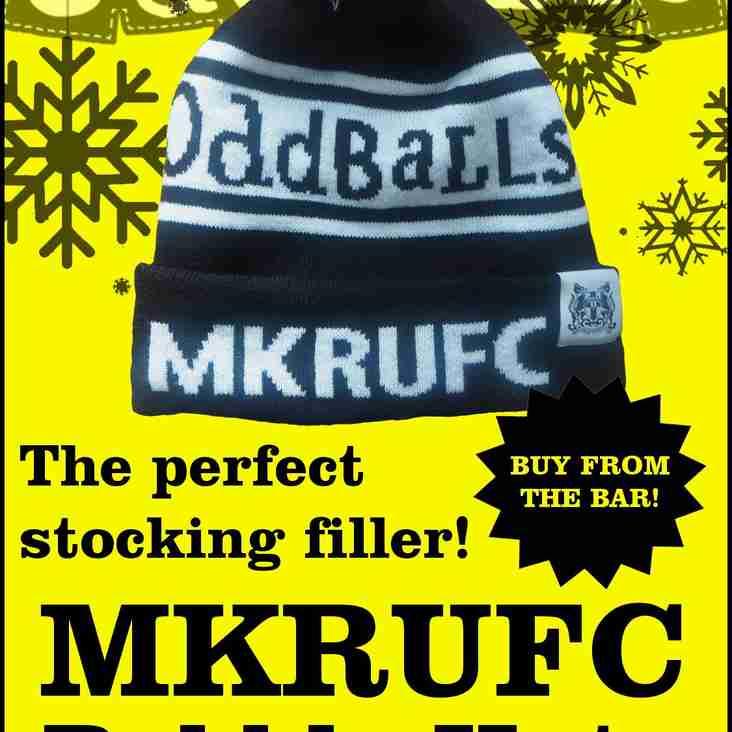 MKRUFC Bobble Hats