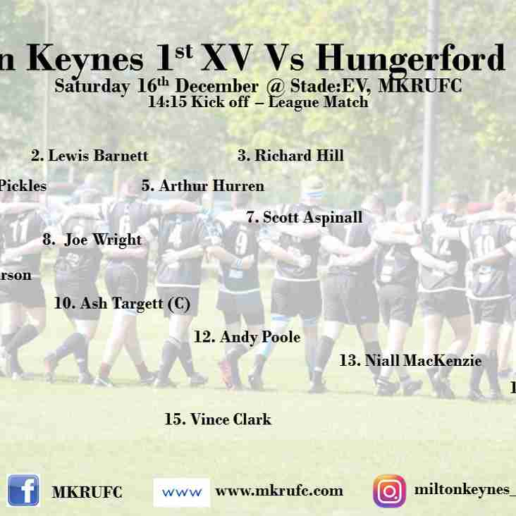 MK 1s vs Hungerford 1s