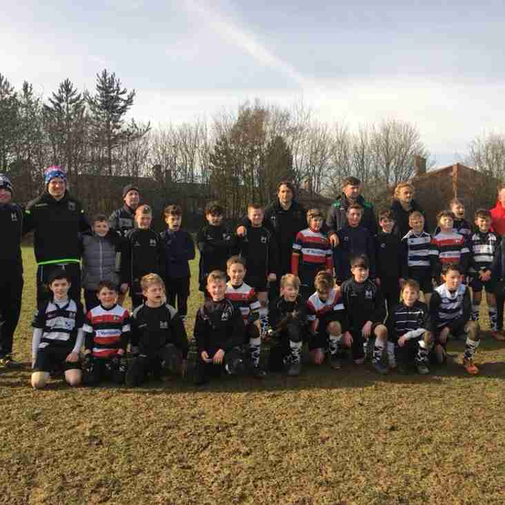 Northampton Saints Visit MKRUFC