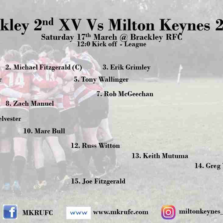 Brackley 2s vs MK 2s