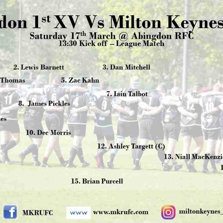 Abingdon 1s vs MK 1s