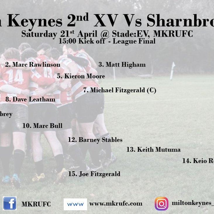 MK 2s vs Sharnbrook - League Final<
