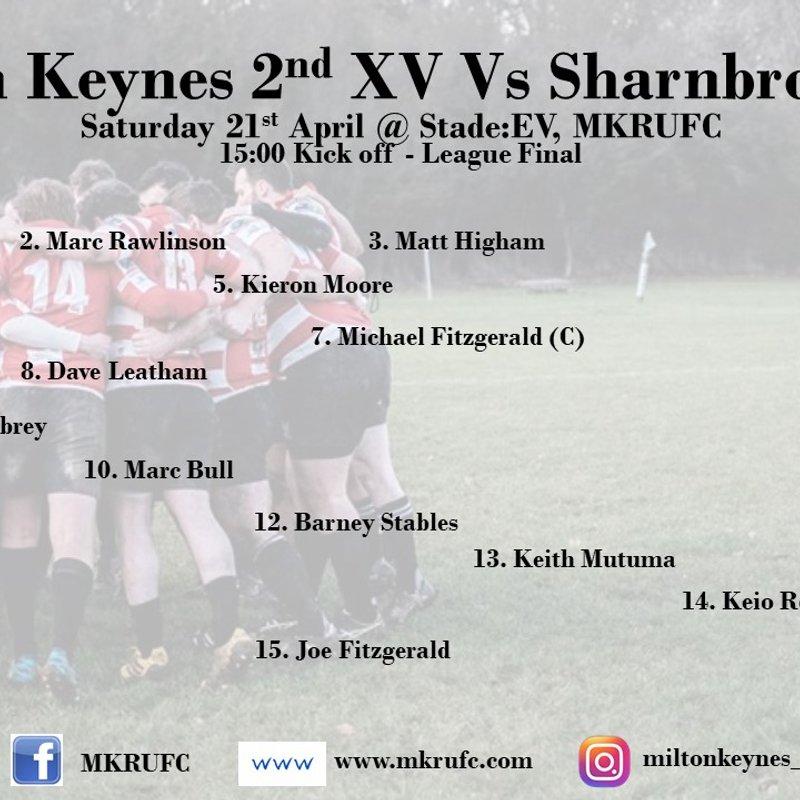 MK 2s vs Sharnbrook - League Final