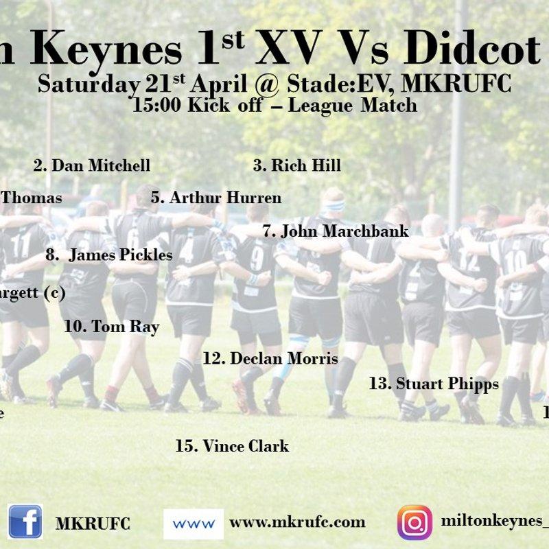 MK 1s vs Didcot 1s