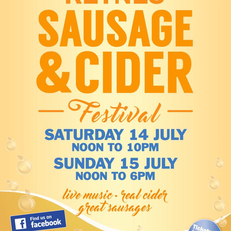 Sausage and Cider Festival 2018