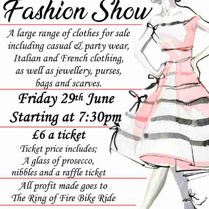 Calling All Ladies, it's Fashion Show Time
