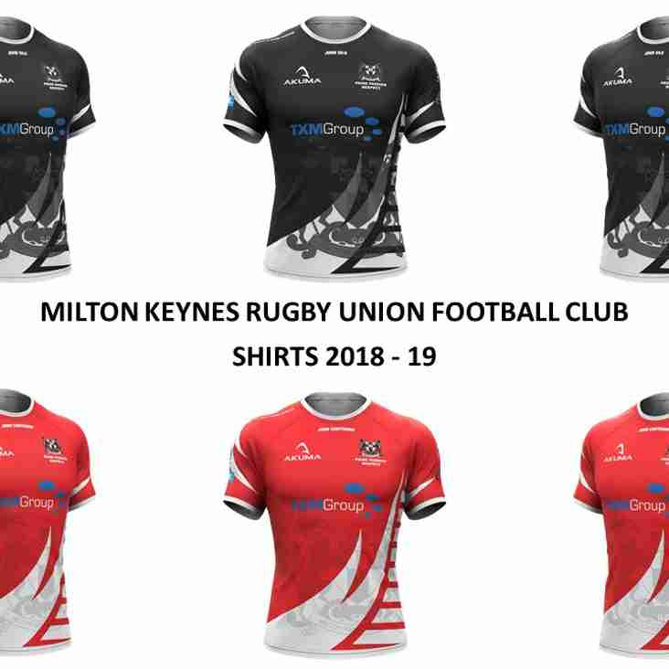 MKRUFC New Club Shirts