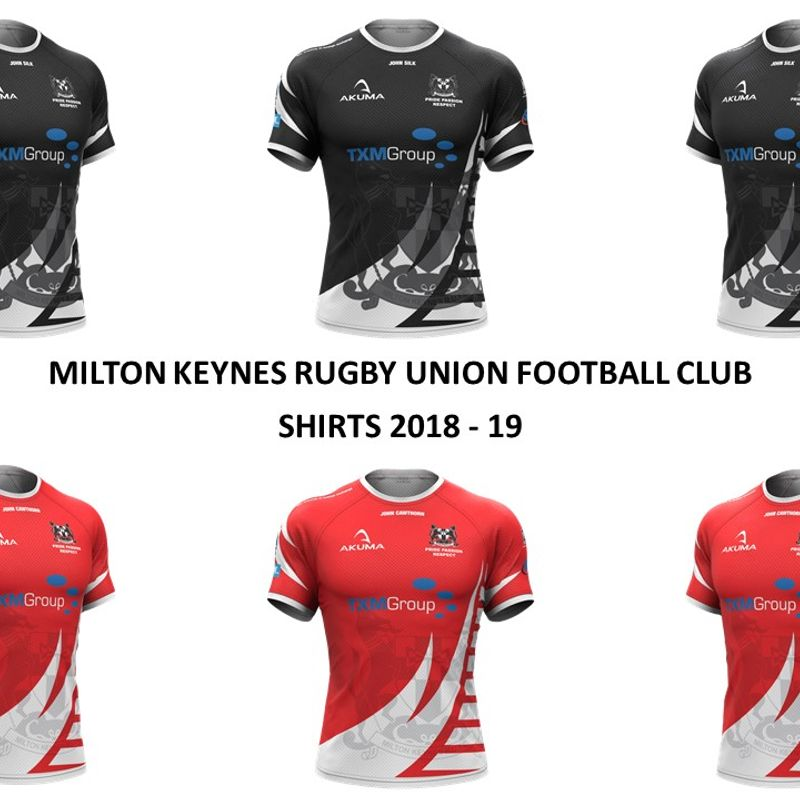 MKRUFC New Club Shirts