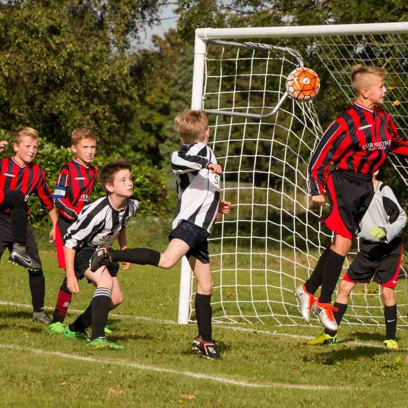 Under 12's v Harleston by Dan Laskey Photography