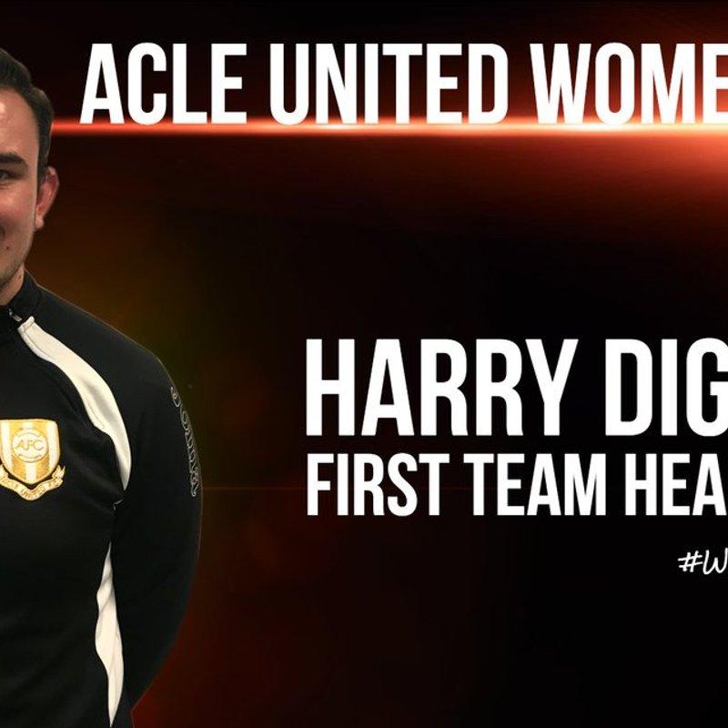 New Head Coach For Women's First Team