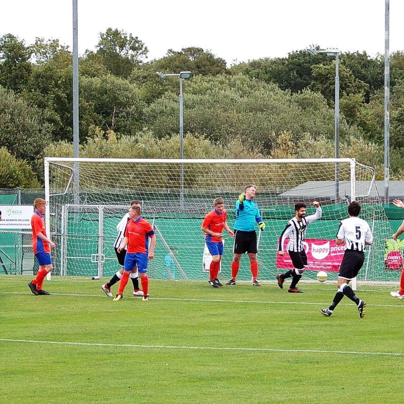 Late Forder Goal Sees Acle Through In Senior Cup