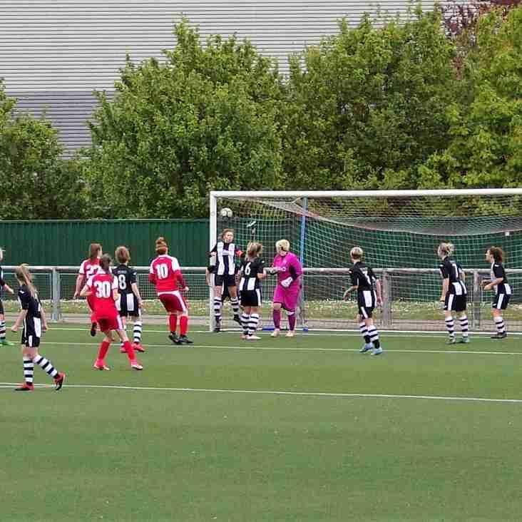 Last Gasp Goal Denies Ladies All Three Points