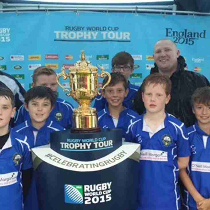 Didsbury Young Bedians lift the World Cup!