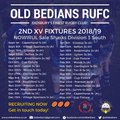 Old Bedians 2nd XV season preview