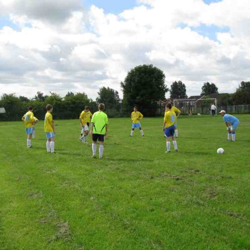 U16s Friendly v Hindley 22.8.10