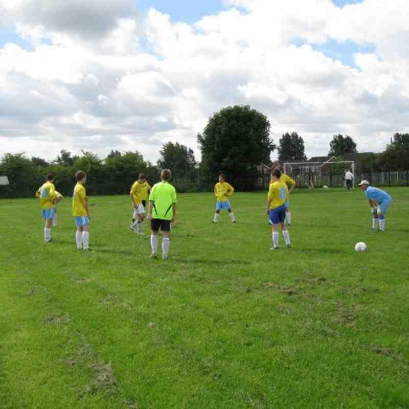 U16s Friendly v Hindley 22.8.10