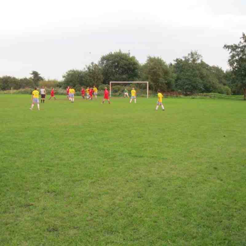 Aspull U16s 1st Home game-1-1 v Penwortham