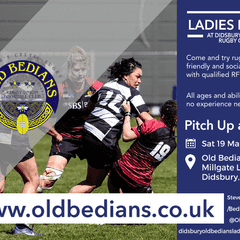 The Hornets - Old Bedians Ladies Pitch Up and Play on the 19th March
