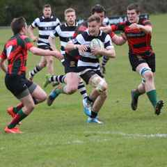 Bedford Ath 1stXV vs. Paviors 9.4.16