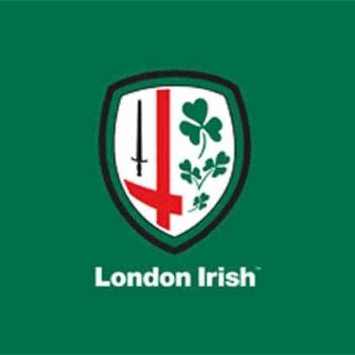LONDON IRISH COACHING SESSION: TUESDAY 16TH FEBRUARY 2016