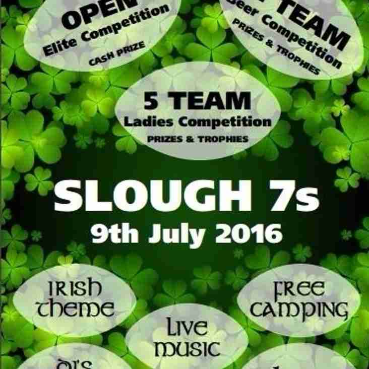 PHOENIX: SLOUGH 7'S TOURNAMENT: SATURDAY 9TH JULY 2016
