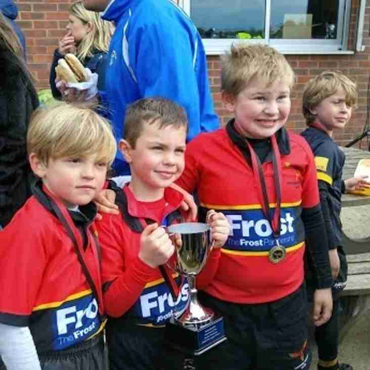 5 OUT OF 5 WINS FOR PHOENIX LEADS THE UNDER 8'S TO GAIN TROPHY