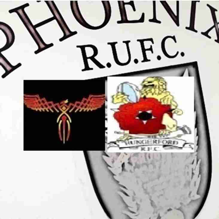 Phoenix II vs Hungerford II: Saturday 29th October 2016