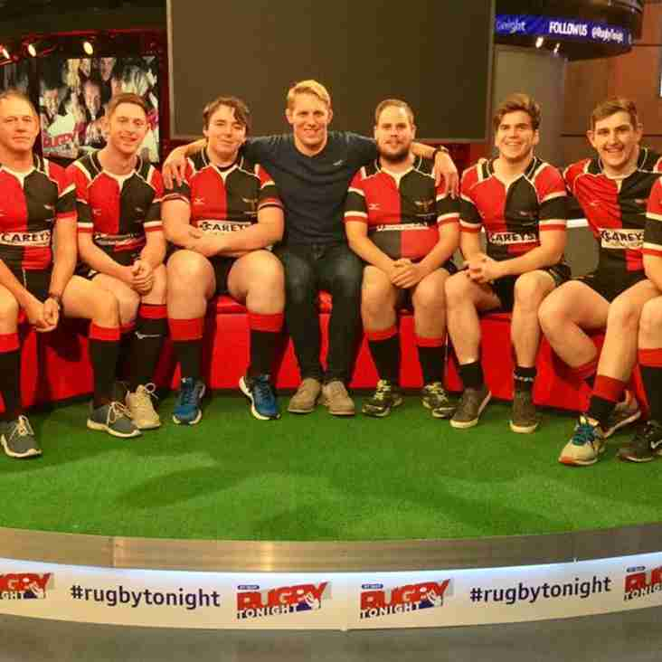 Phoenix TV Appearance: Rugby Tonight