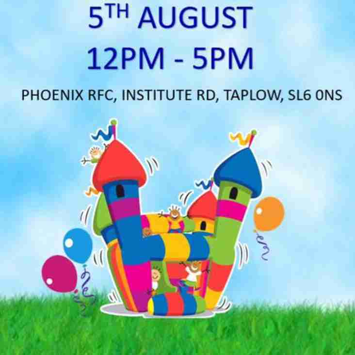 PHOENIX RUGBY CLUB FAMILY FUN DAY 5TH AUGUST 2017