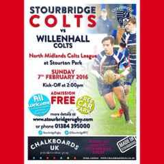 Stourbridge Colts vs Willenhall Colts