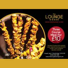 SPECIAL PROMOTION - The Lounge Bar & Grill