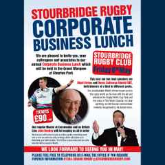 Stourbridge Rugby May Lunch