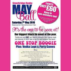Stourbridge Rugby May Ball 2016