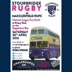 Supporters' bus to  Macclesfield