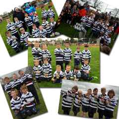 Stourbridge Under 7s in Three Different Counties!