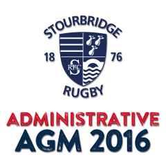 Administrative AGM 2016 - Wed Jul 6th, 8pm.