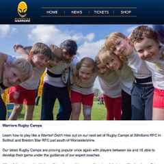 Warriors Summer Camp at Stourton Park