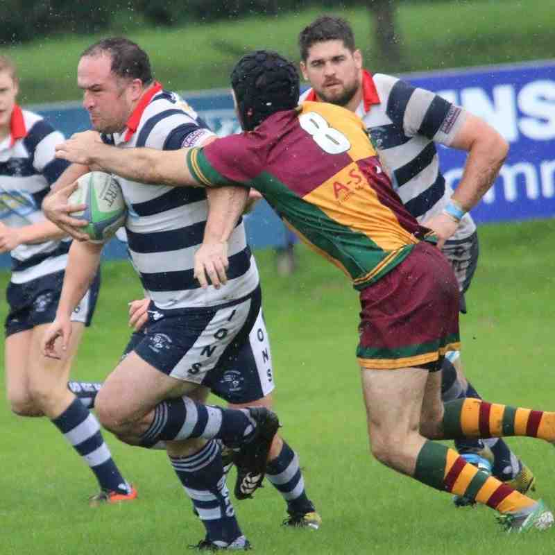 Old Rugby Rules: Lions Vs Old Yardleians 01/10/2016