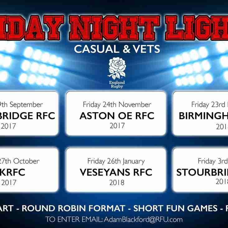 Friday Night Lights - Casuals & Vets
