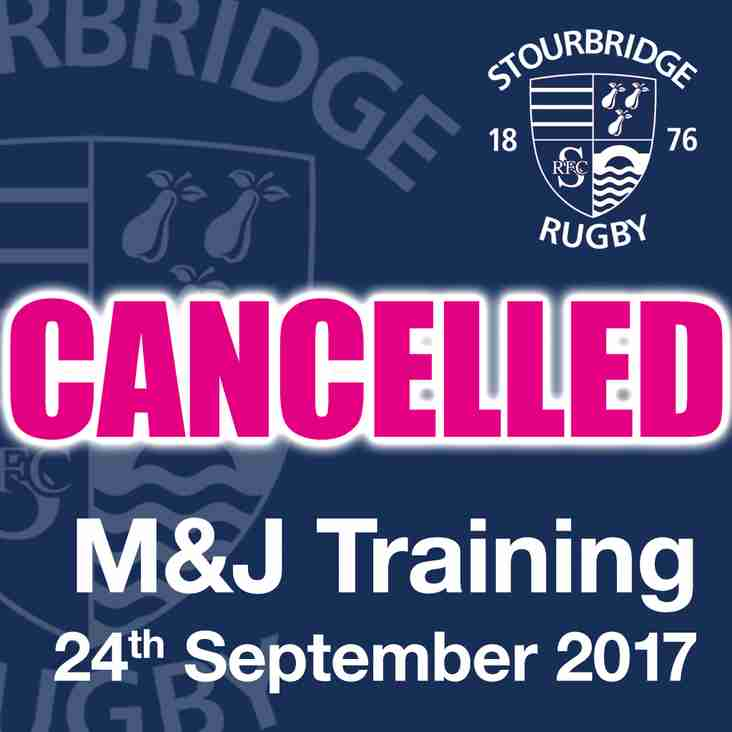M&Js Training CANCELLED