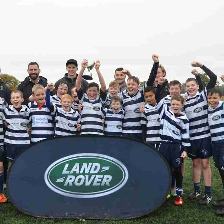 Stourbridge Under 12s WIN the prestigious Land Rover Cup