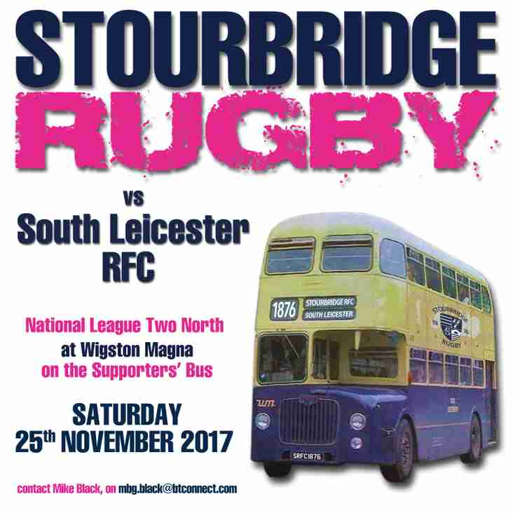 Supporters' Bus to South Leicester
