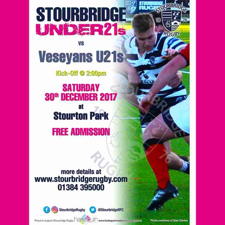 Stourbridge U21s vs Veseyans U21s