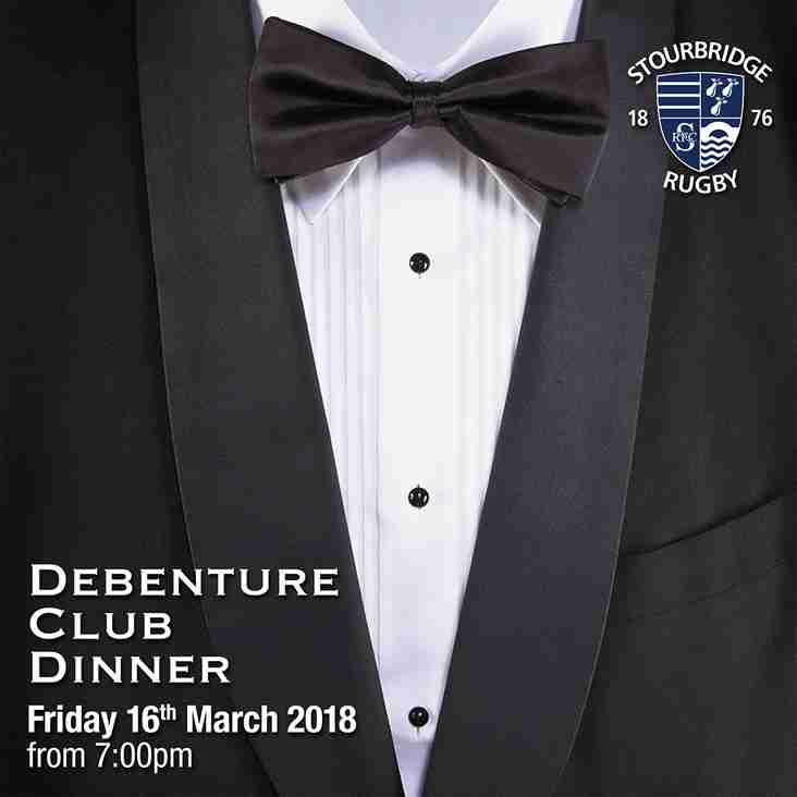 Debenture Club Dinner