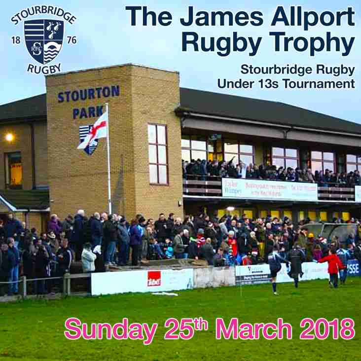 The James Allport Rugby Trophy
